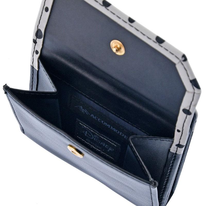 【ACCOMMODE】ローリー 財布・ウォレット チョーカーモチーフ ブラック 101匹わんちゃん