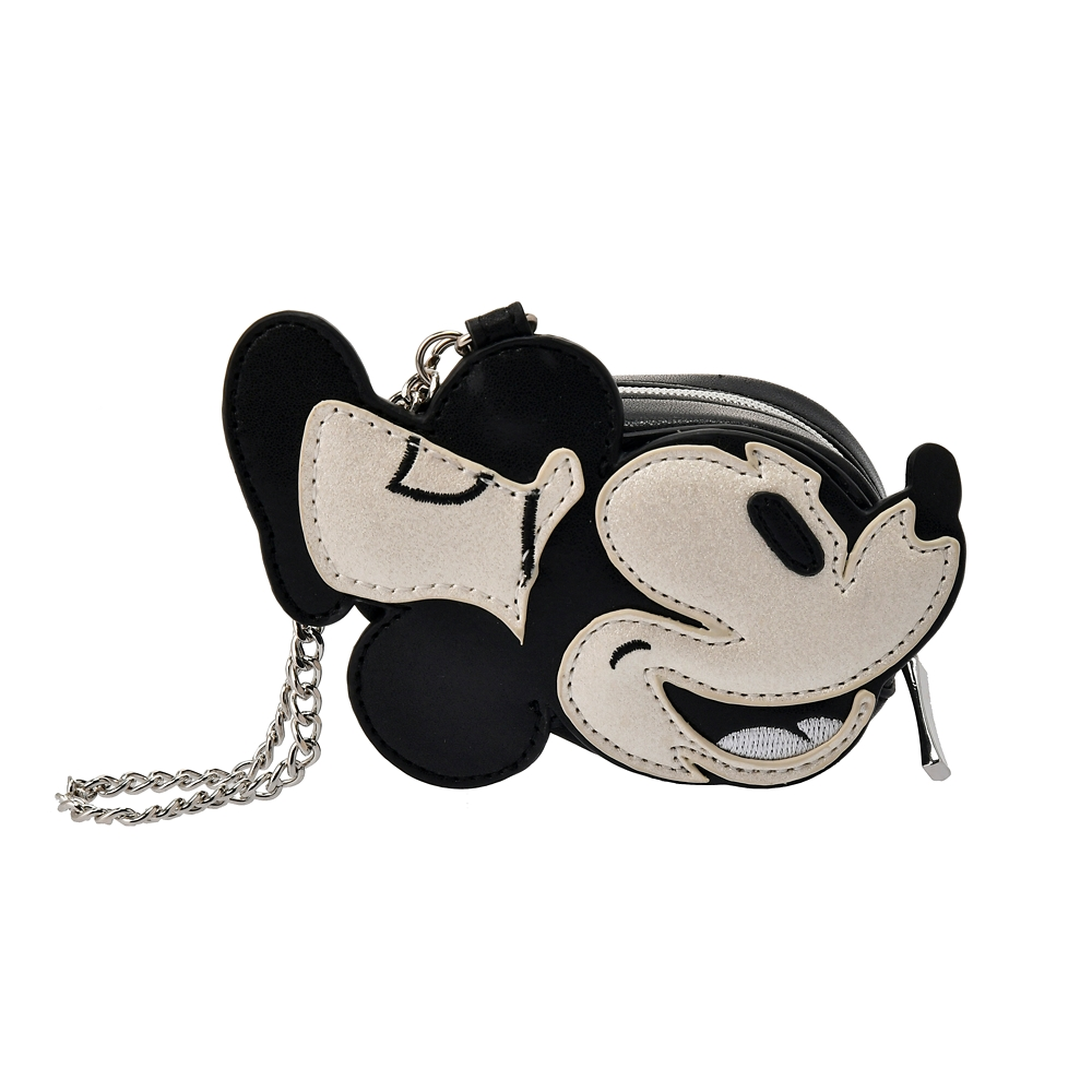【ACCOMMODE】ミッキー ポーチ ダイカット Steamboat Willie