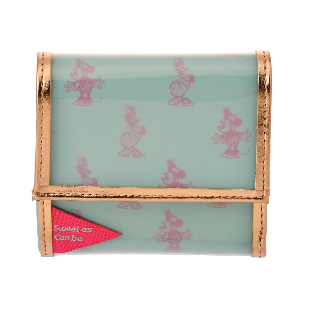 【ACCOMMODE】ミニー&デイジー 財布・ウォレット クリアパイピング