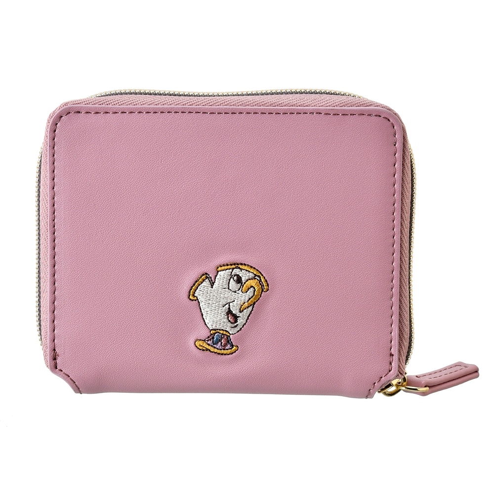 【送料無料】【ACCOMMODE】ポット夫人とチップ 財布・ウォレット クラシック刺繍 美女と野獣