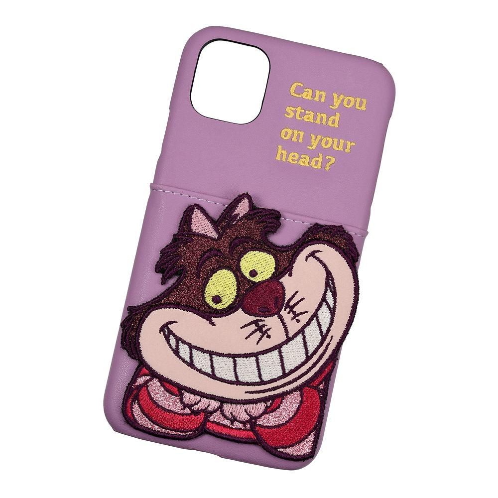 【ACCOMMODE】チェシャ猫 iPhone 11用スマホケース・カバー パッチワーク