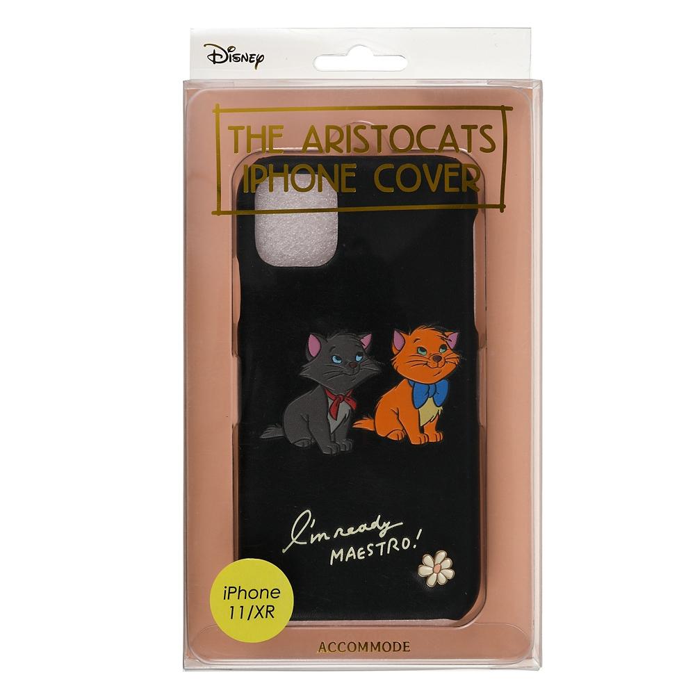 【ACCOMMODE】ベルリオーズ&トゥルーズ おしゃれキャット iPhone 11/XR用スマホケース・カバー The Aristocats