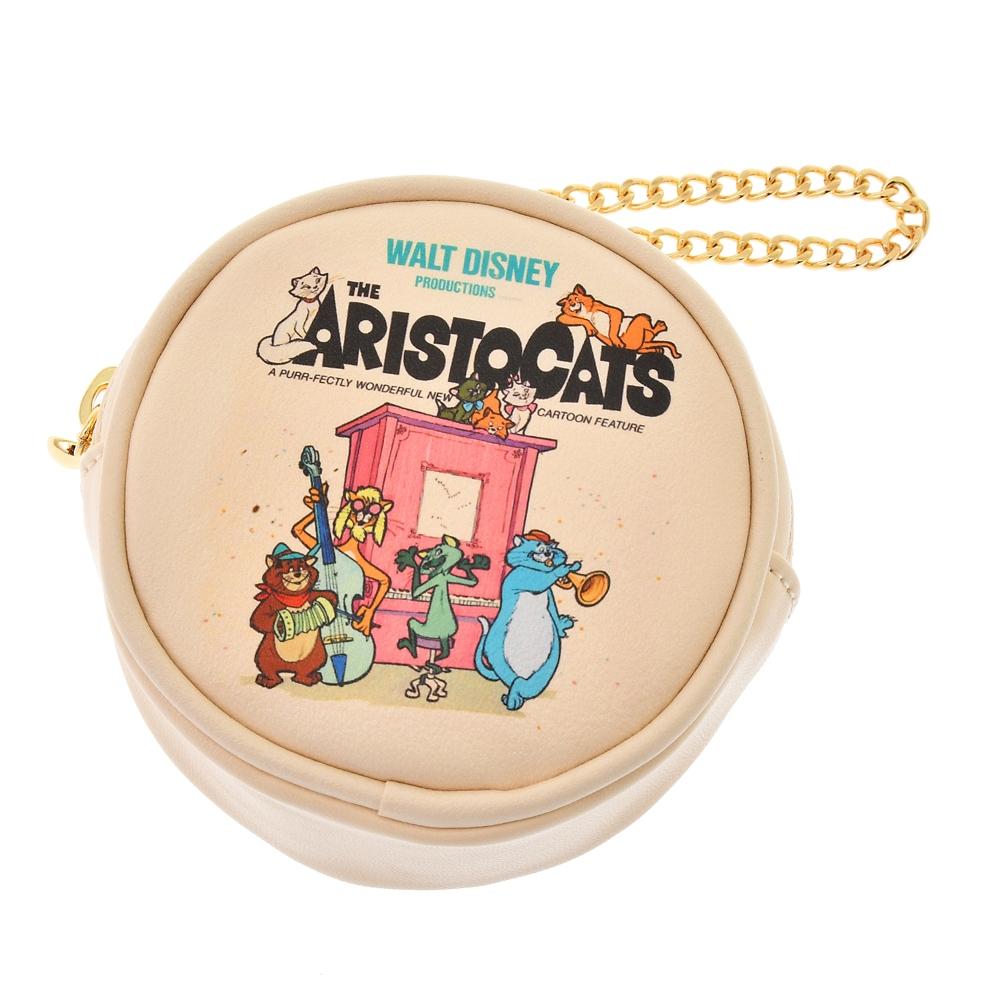 【ACCOMMODE】おしゃれキャット ポーチ レコード The Aristocats