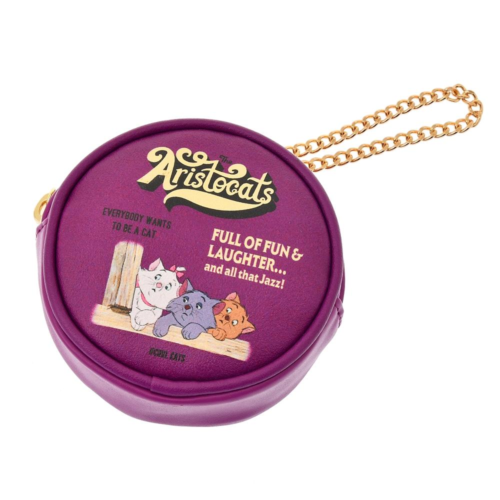 【ACCOMMODE】マリー、ベルリオーズ、トゥルーズ おしゃれキャット ポーチ レコード The Aristocats