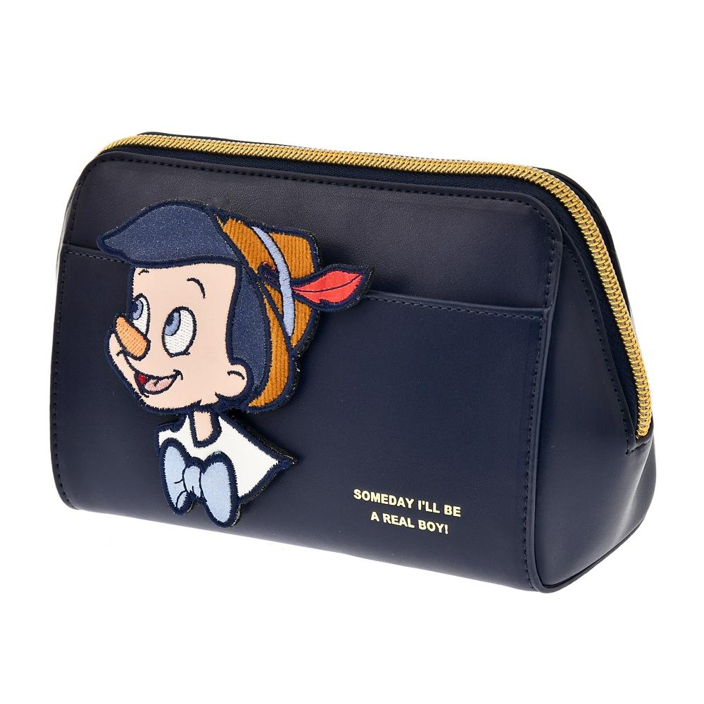 【ACCOMMODE】ピノキオ ポーチ パッチワークワッペン