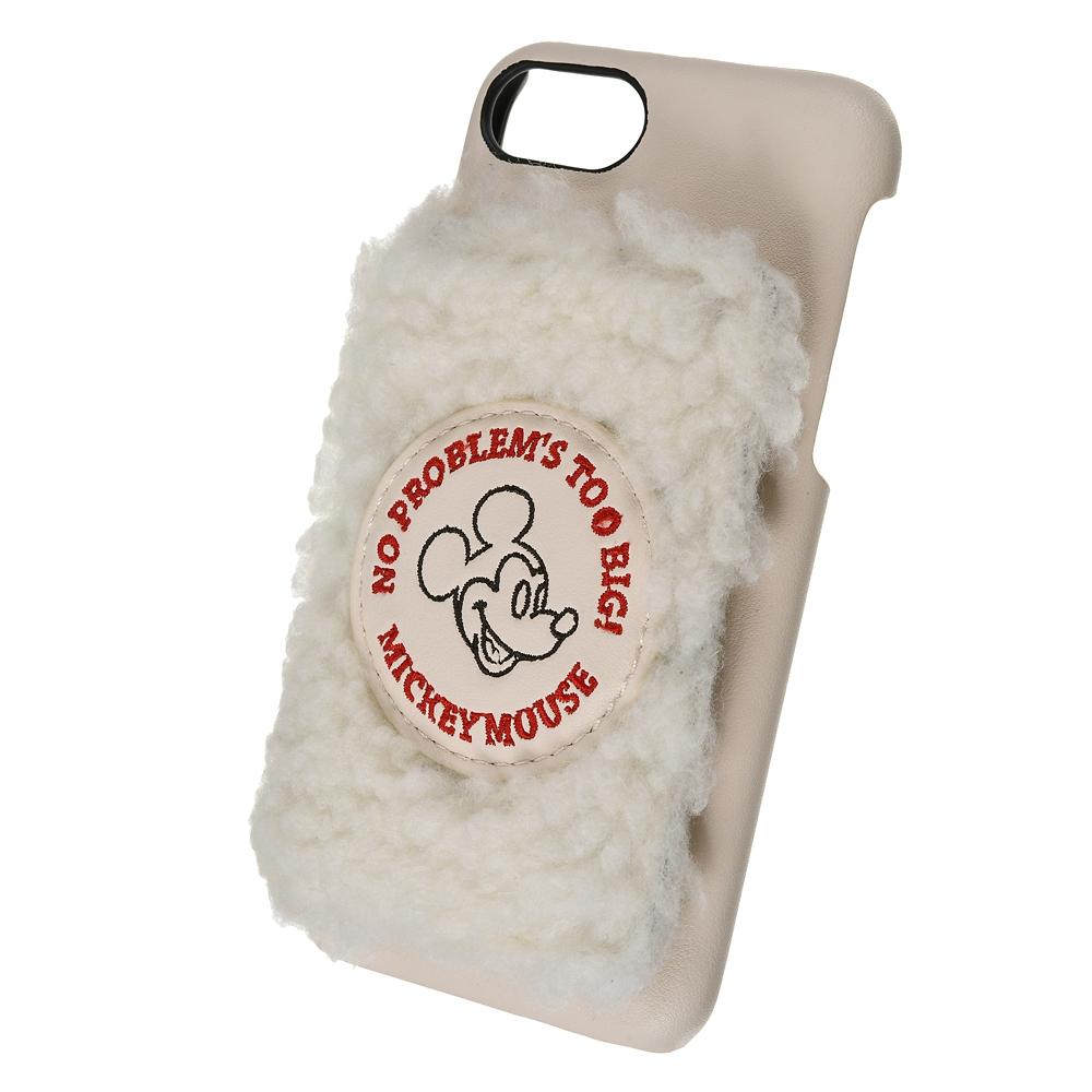 【ACCOMMODE】ミッキー iPhone 6/6s/7/8/SE(第2世代)用スマホケース・カバー ボア ラインアート