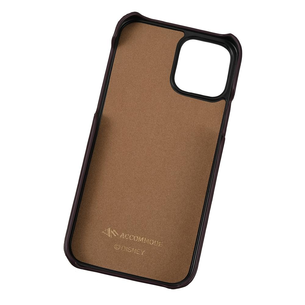 【ACCOMMODE】レディ iPhone 12/12 Pro用スマホケース・カバー パッチワークワッペン わんわん物語