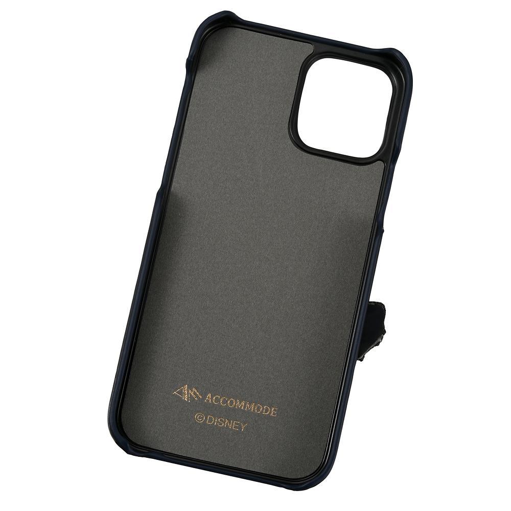 【ACCOMMODE】トランプ iPhone 12/12 Pro用スマホケース・カバー パッチワークワッペン わんわん物語