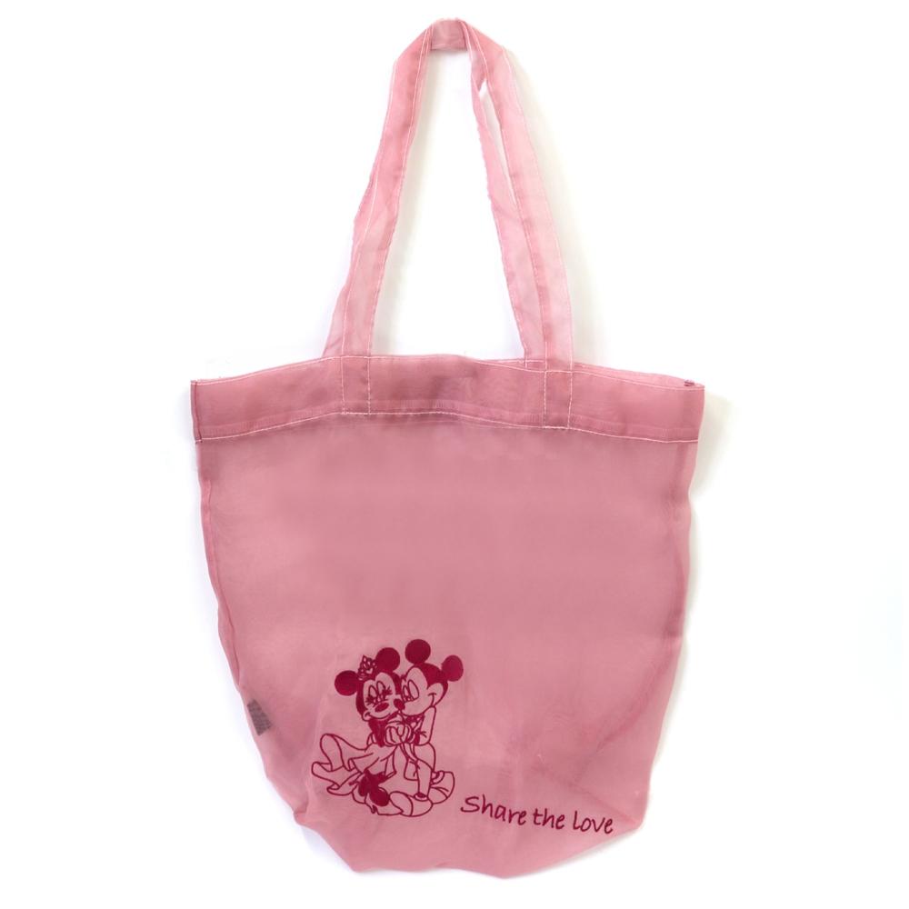 【TAKARAZUKA REVUE】シアーエコバッグ ピンク