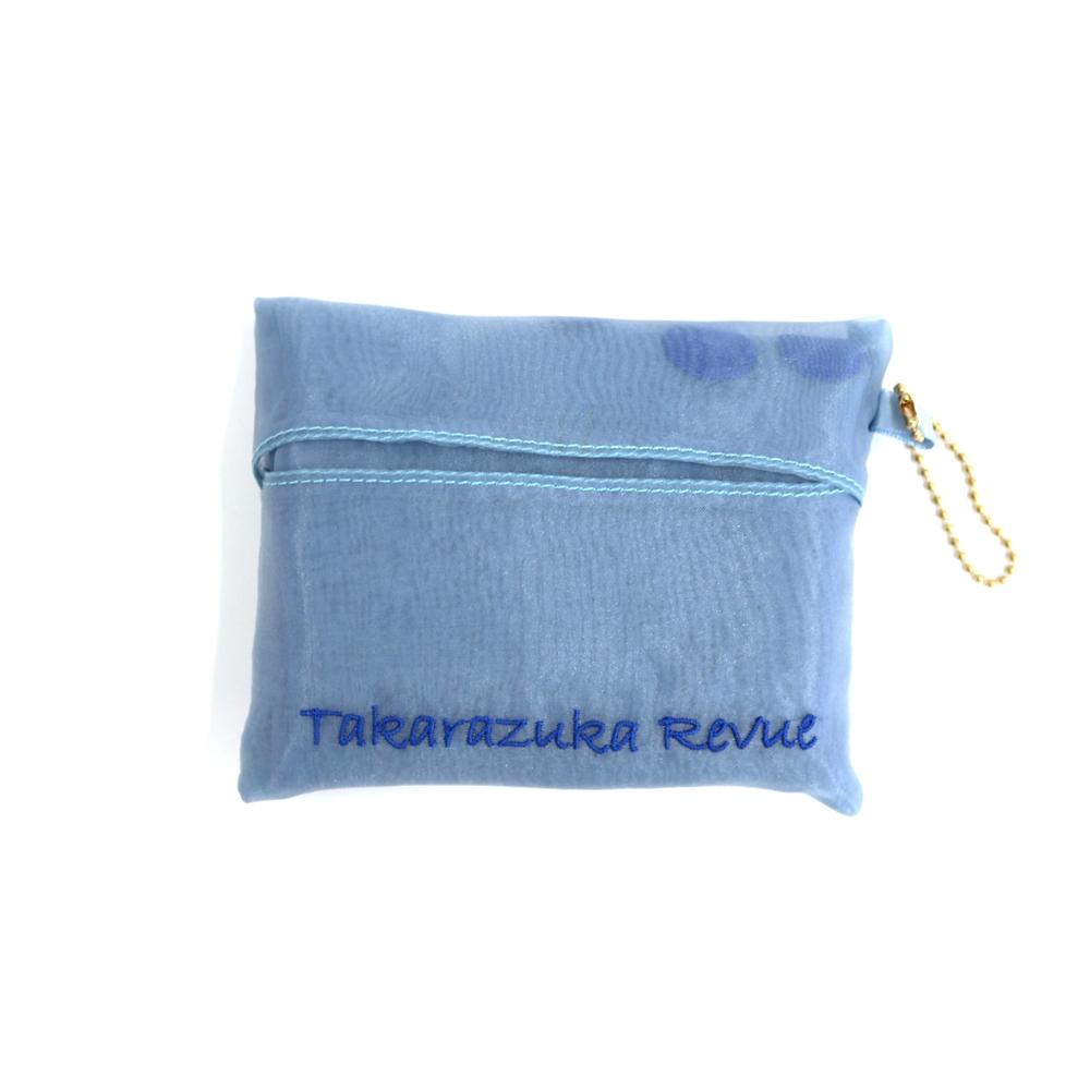 【TAKARAZUKA REVUE】シアーエコバッグ ブルー