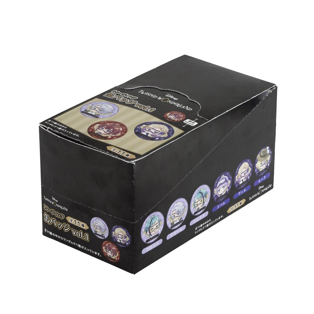 ツイステッドワンダーランド トレーディング缶バッジvol.1 コンプリートBOX
