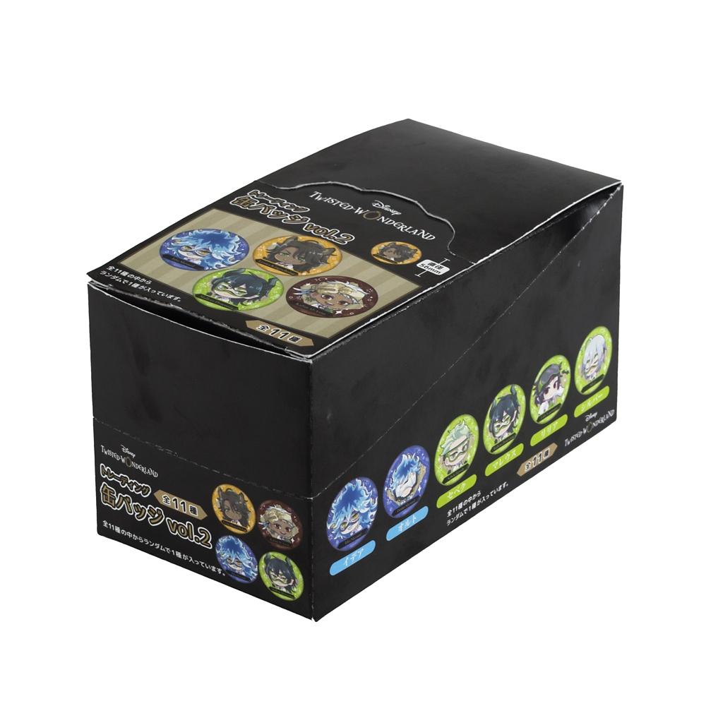 ツイステッドワンダーランド トレーディング缶バッジvol.2 コンプリートBOX
