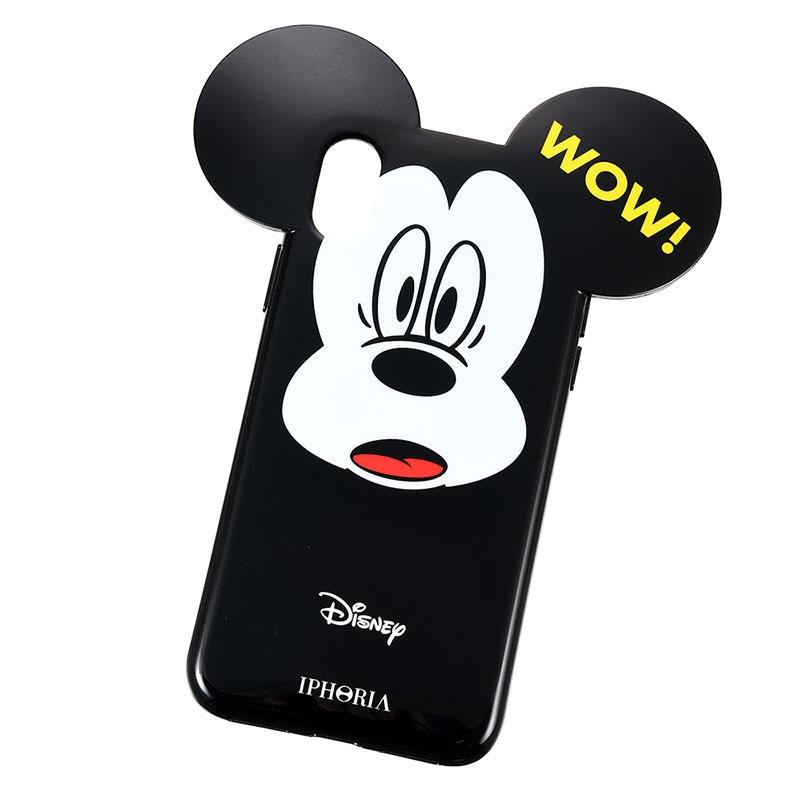 【IPHORIA】iPhone X/XS用スマホケース・カバー ミッキー WOW!