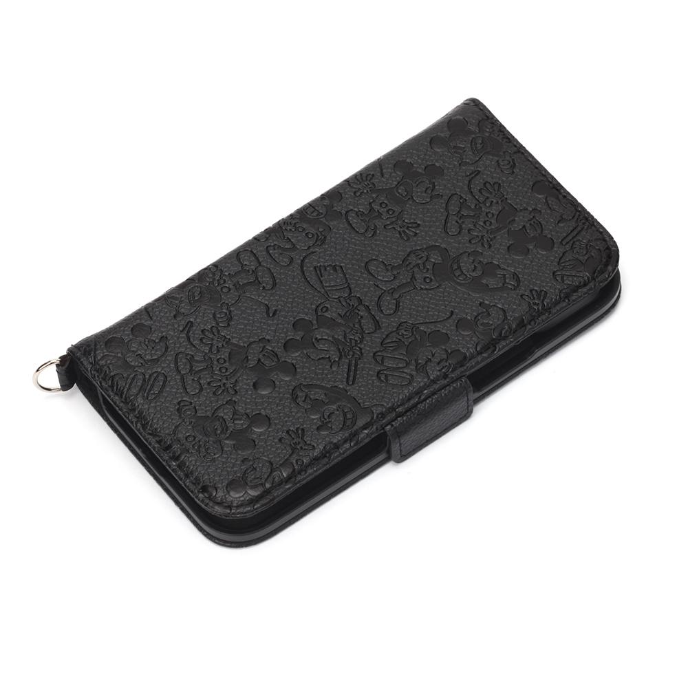 iPhone 13 mini用 フリップカバー [ミッキーマウス]
