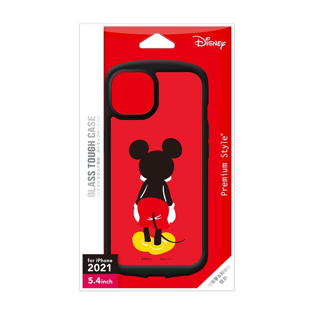 iPhone 13 mini用 ガラスタフケース [ミッキーマウス]
