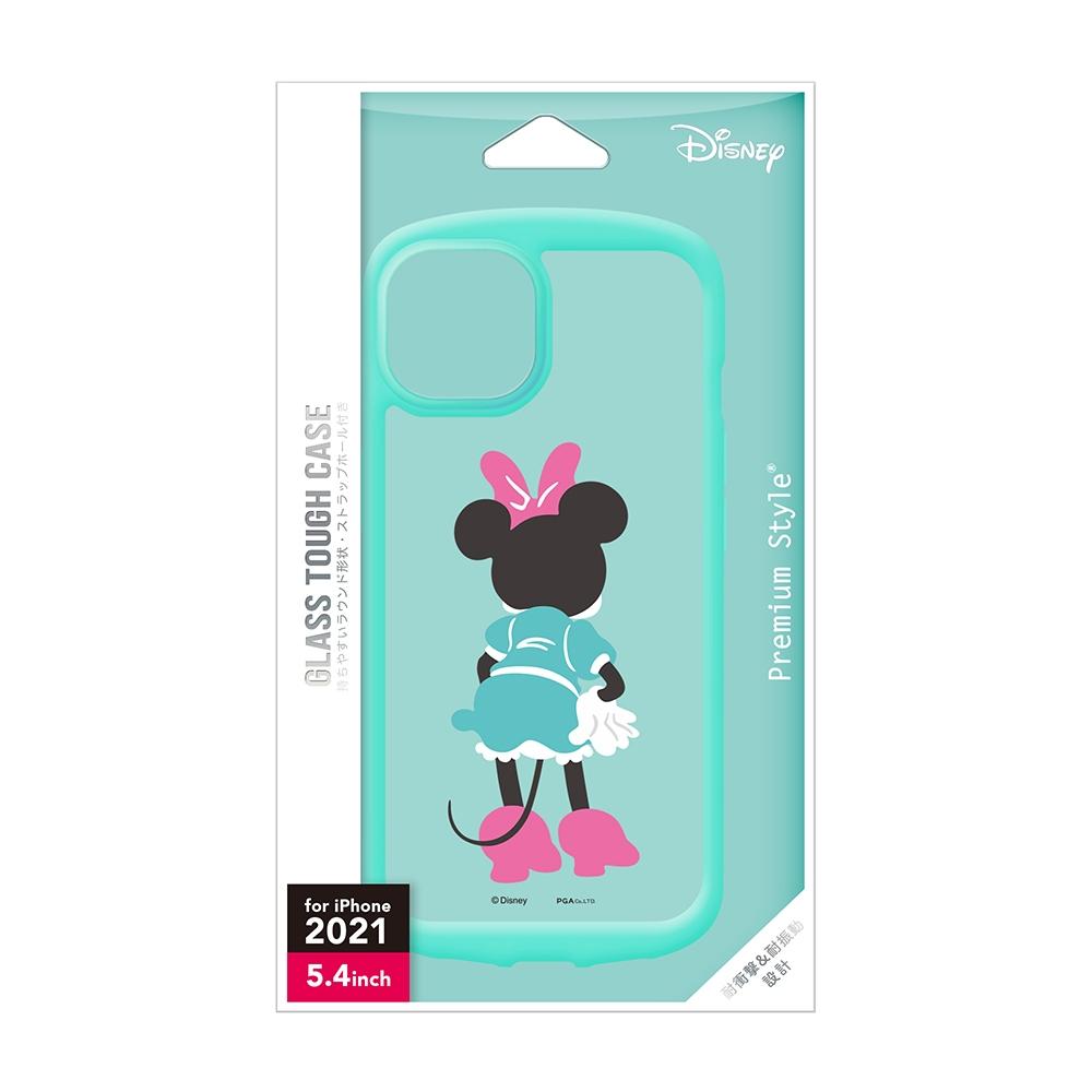 iPhone 13 mini用 ガラスタフケース [ミニーマウス]