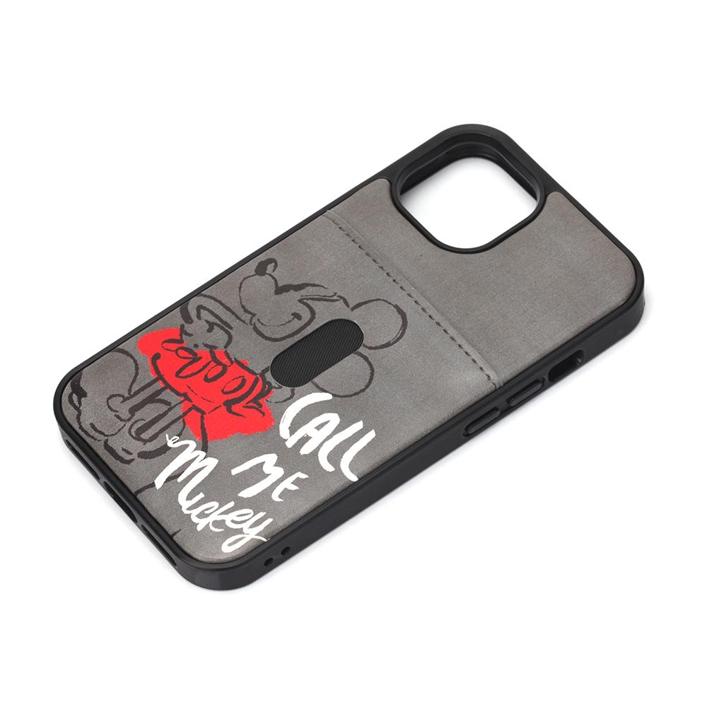 iPhone 13 mini用 タフポケットケース [ミッキーマウス]