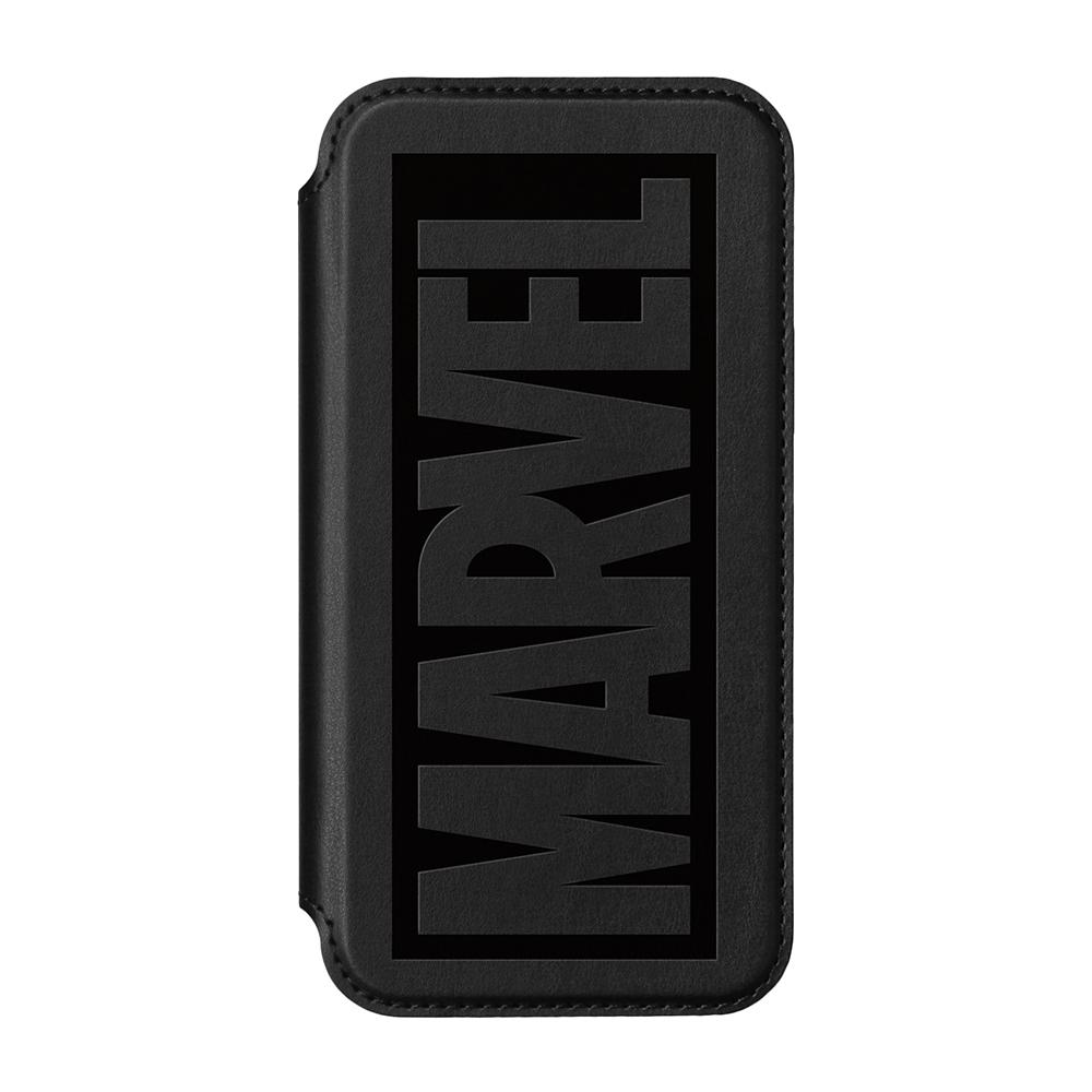 iPhone 13 mini用 ガラスフリップケース [ヴェノム]