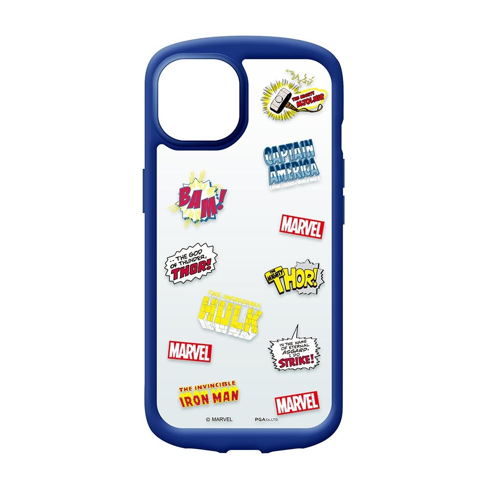 iPhone 13 mini用 ガラスタフケース [アベンジャーズ]