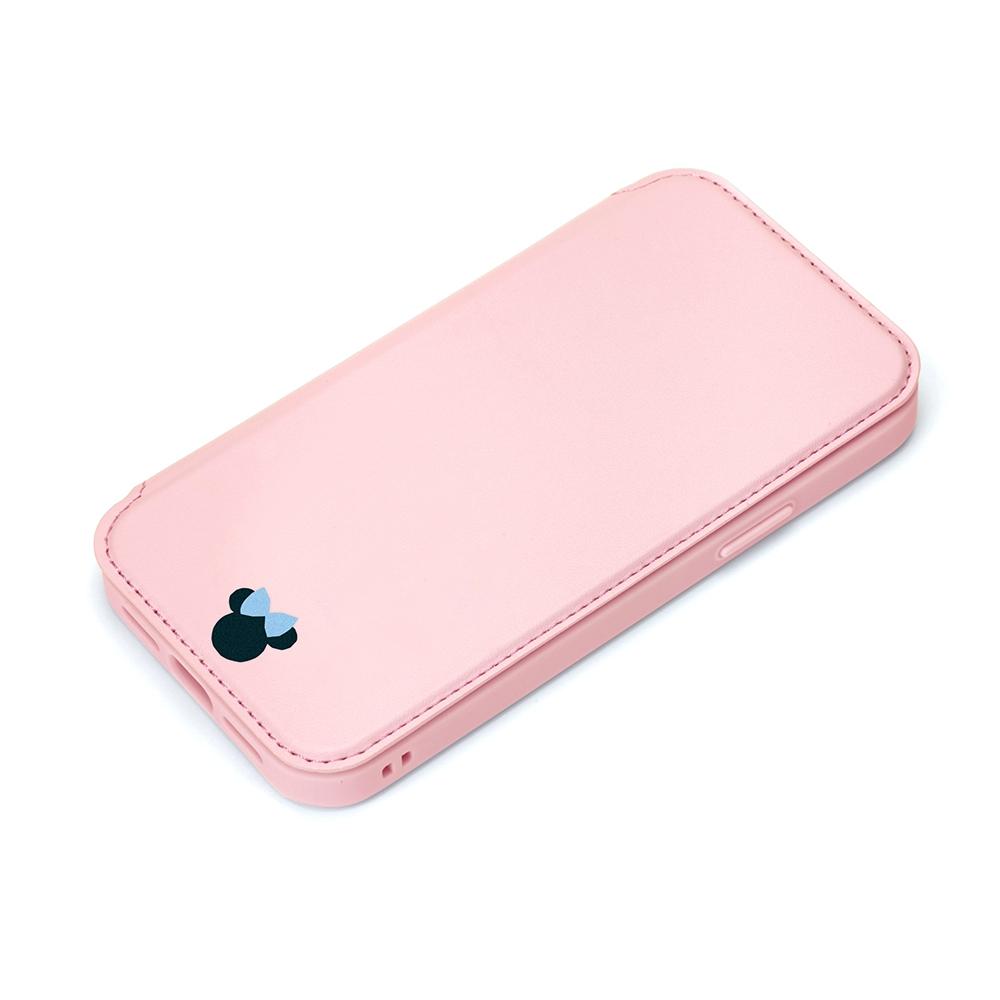 iPhone 13用 ガラスフリップケース [ミニーマウス]