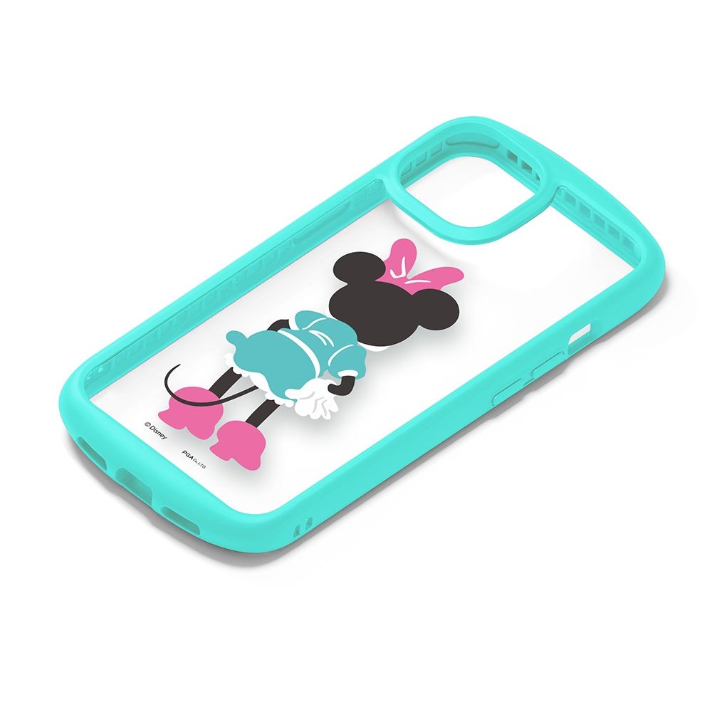 iPhone 13用 ガラスタフケース [ミニーマウス]