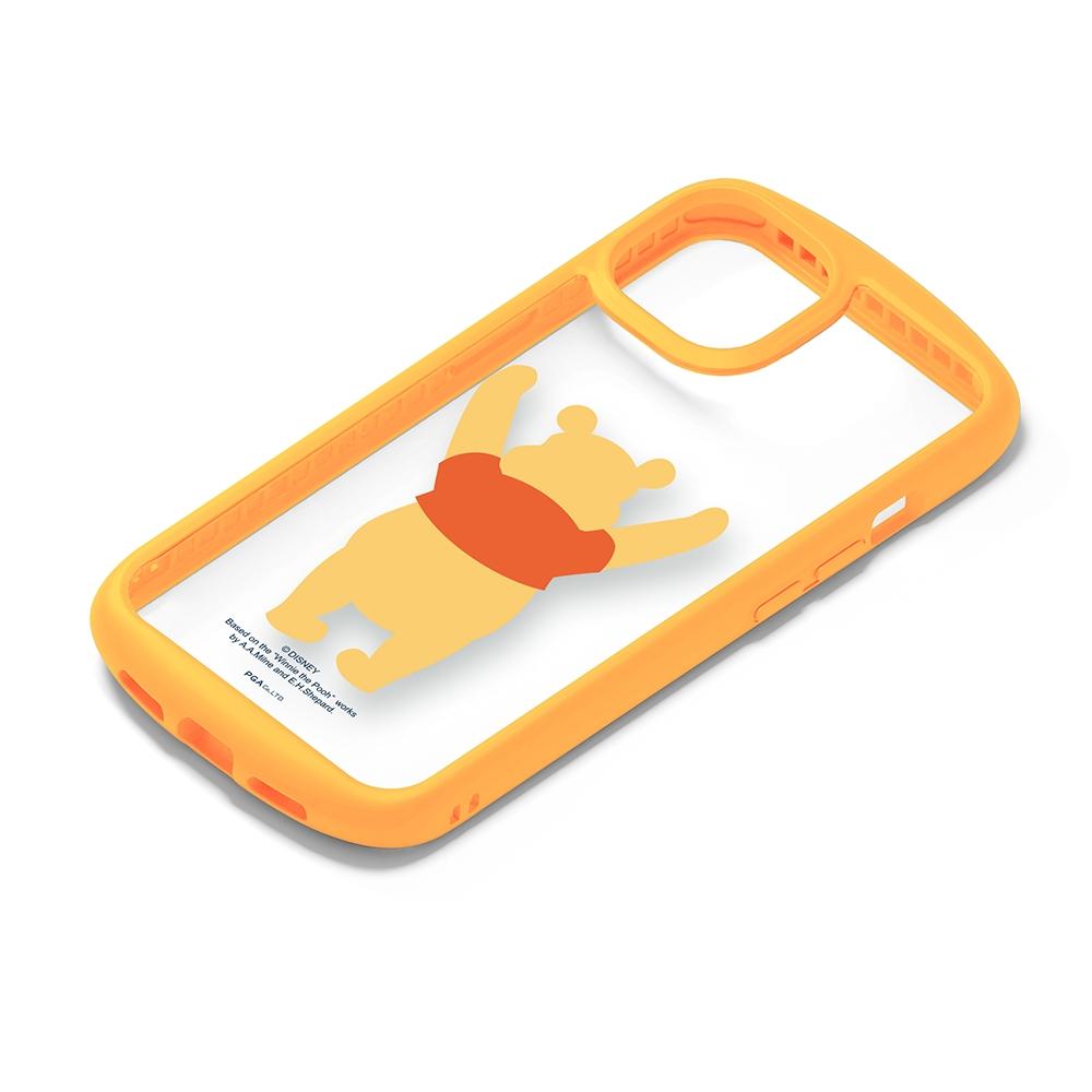 iPhone 13用 ガラスタフケース [くまのプーさん]
