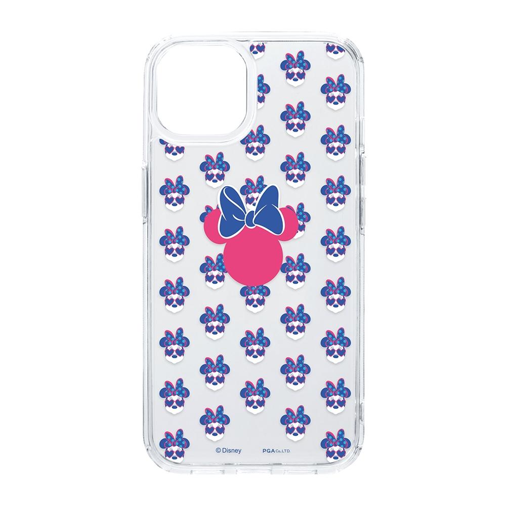iPhone 13用 抗菌ハイブリッドケース [ミニーマウス]