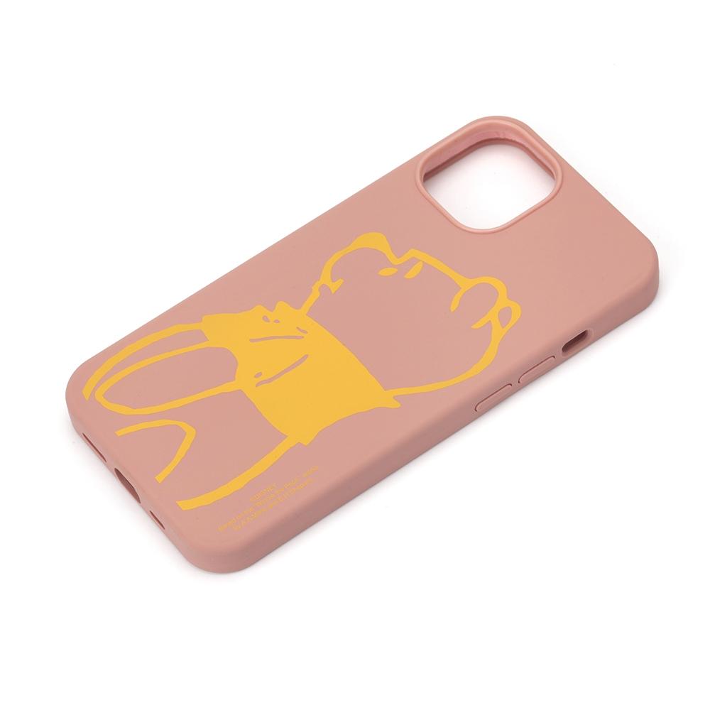 iPhone 13用 抗菌スリムシリコンケース [くまのプーさん]