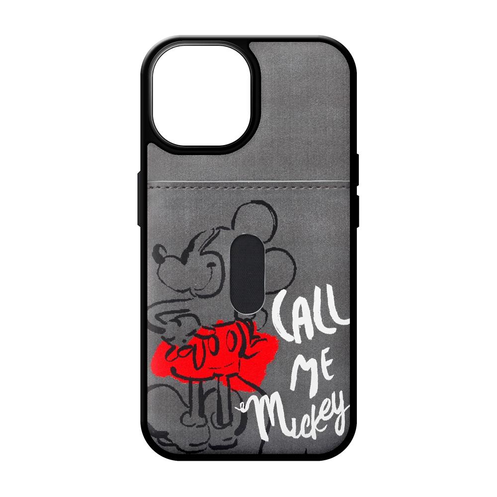iPhone 13用 タフポケットケース [ミッキーマウス]