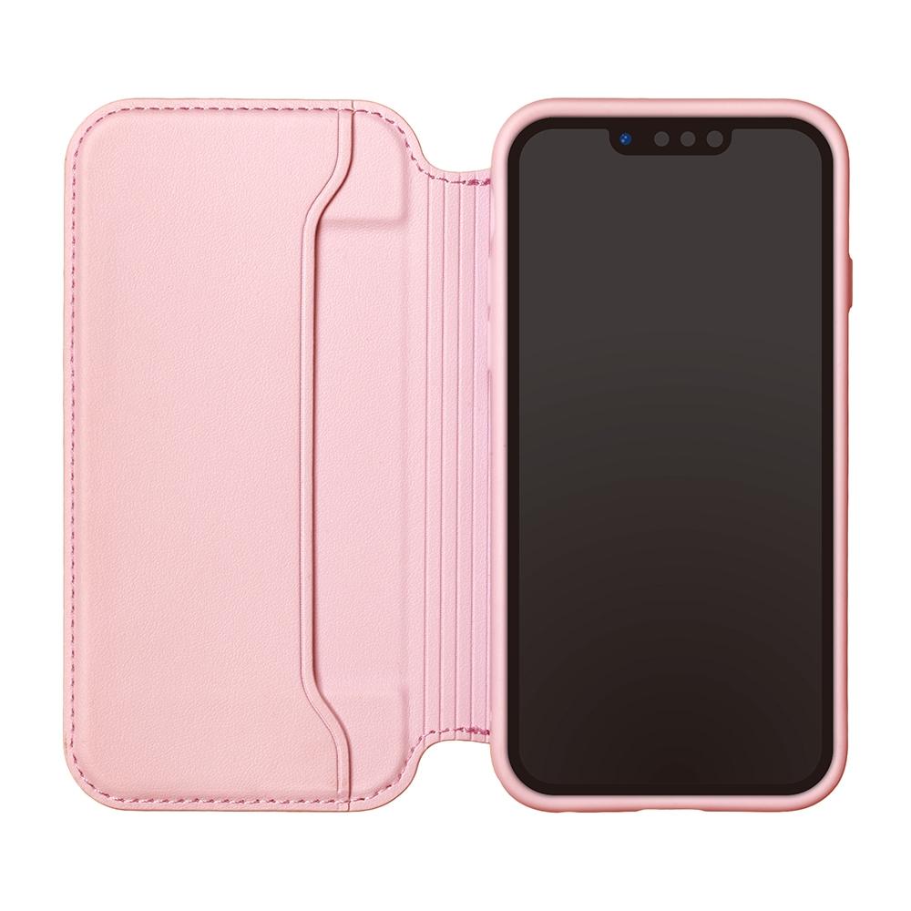 iPhone 13 Pro用 ガラスフリップケース [ミニーマウス]