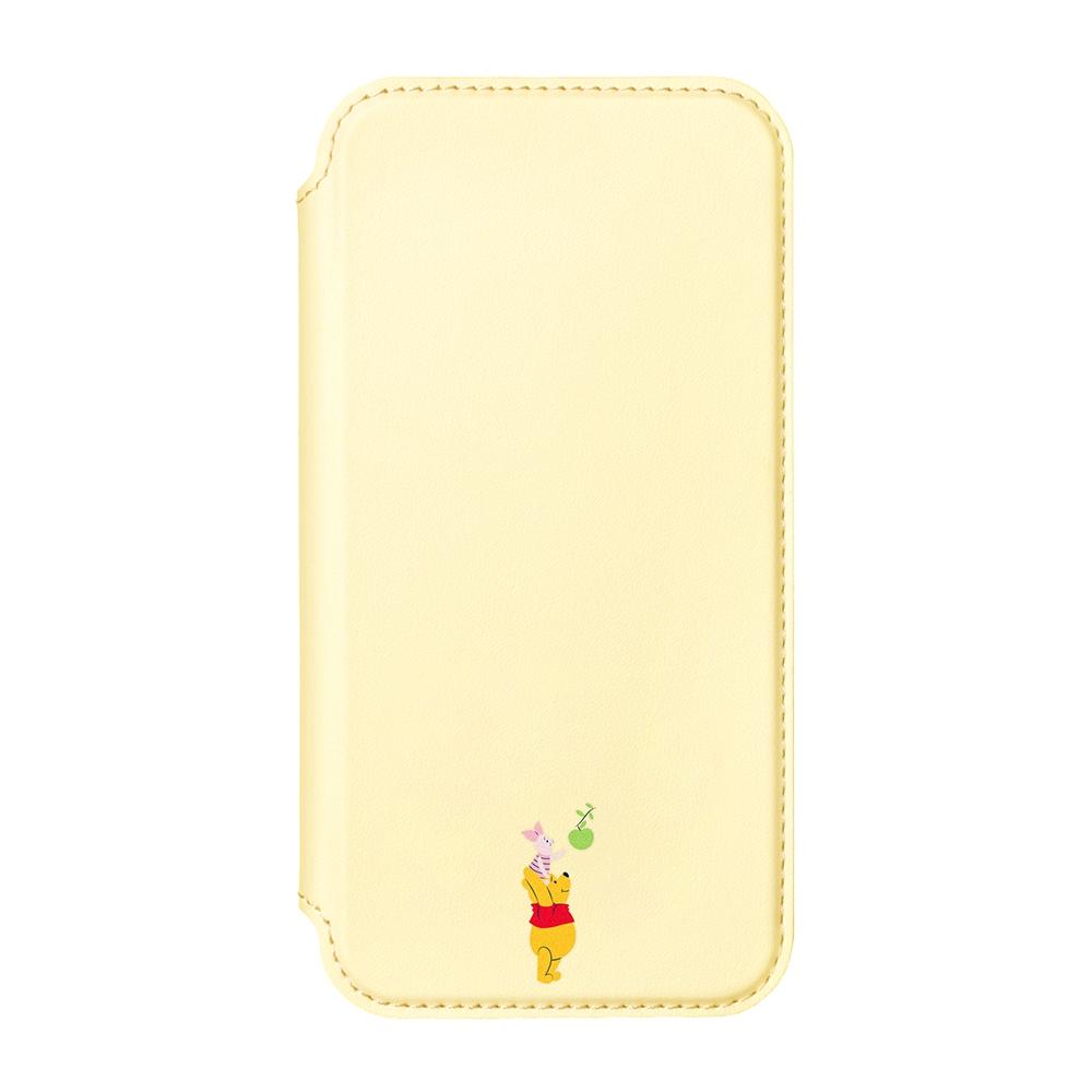 iPhone 13 Pro用 ガラスフリップケース [くまのプーさん]