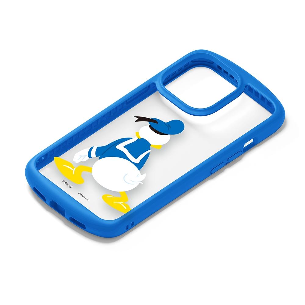 iPhone 13 Pro用 ガラスタフケース [ドナルドダック]