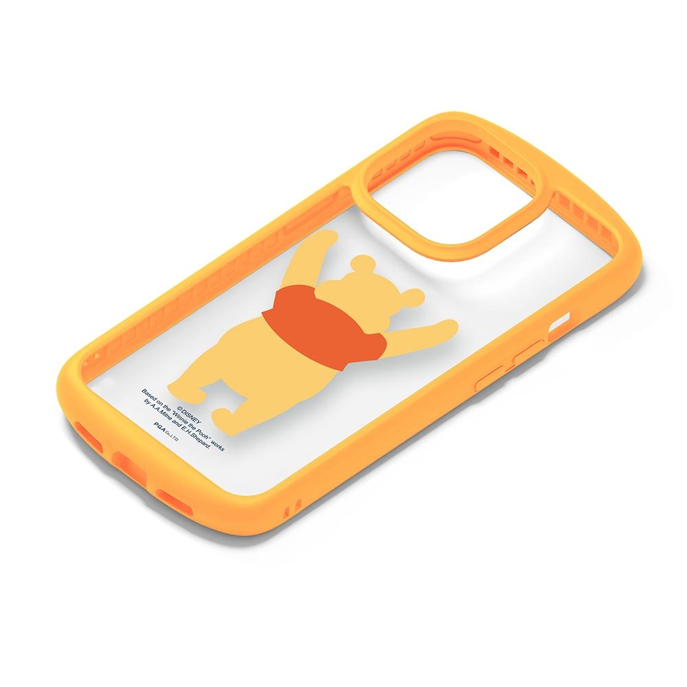 iPhone 13 Pro用 ガラスタフケース [くまのプーさん]