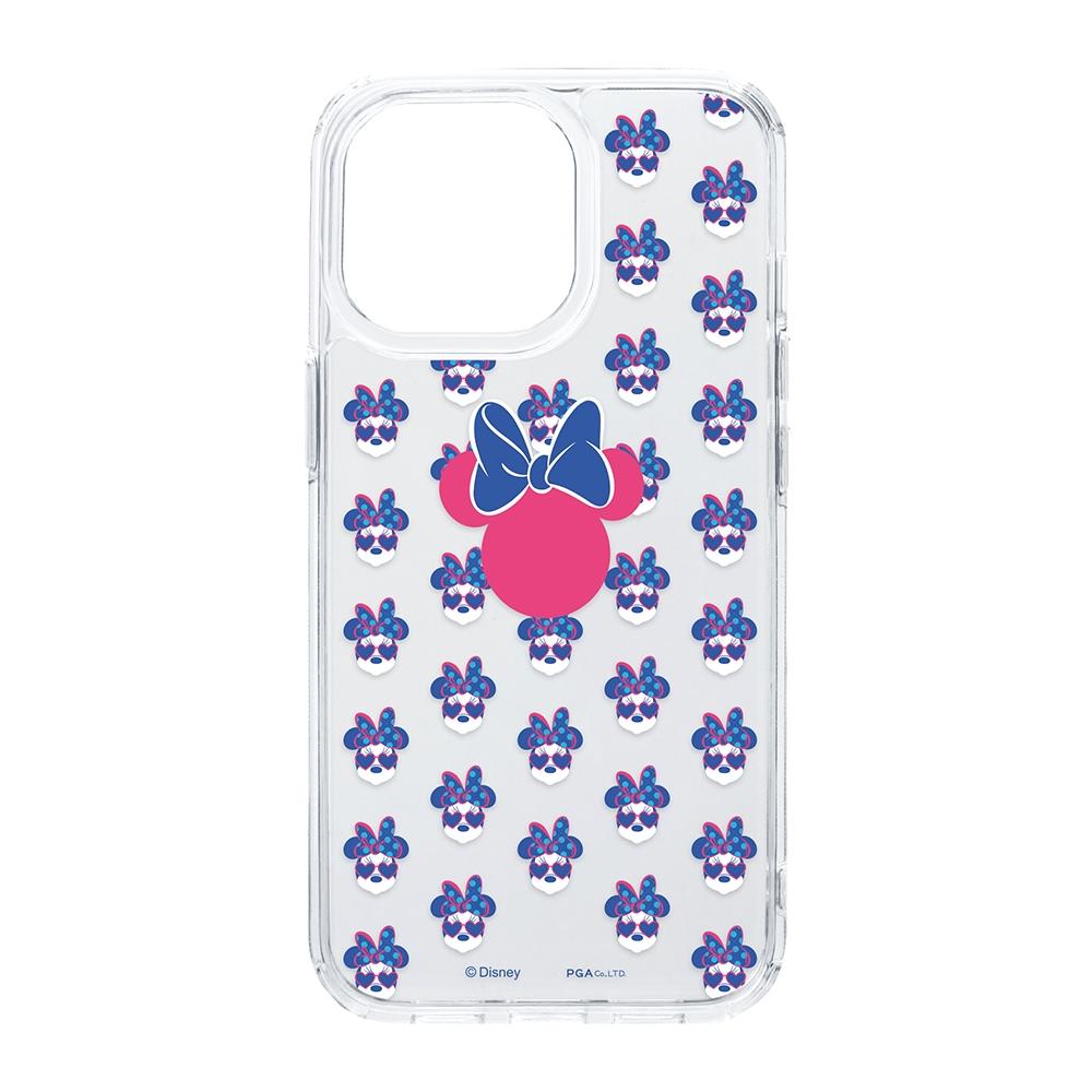 iPhone 13 Pro用 抗菌ハイブリッドケース [ミニーマウス]