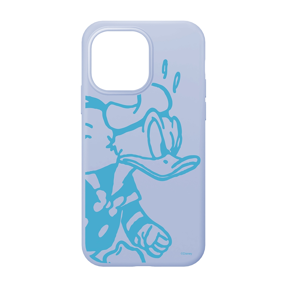 iPhone 13 Pro用 抗菌スリムシリコンケース [ドナルドダック]