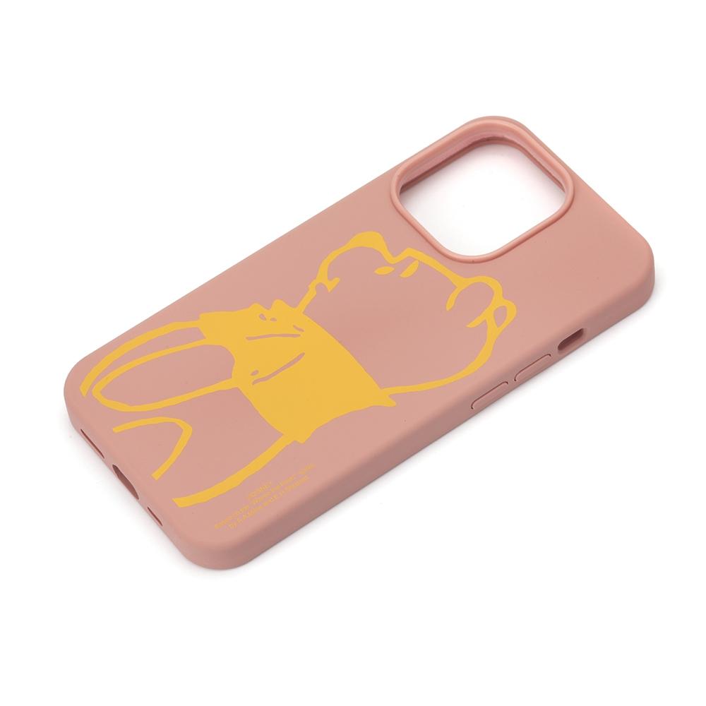 iPhone 13 Pro用 抗菌スリムシリコンケース [くまのプーさん]