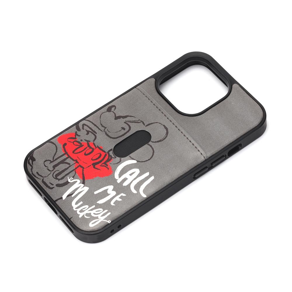 iPhone 13 Pro用 タフポケットケース [ミッキーマウス]