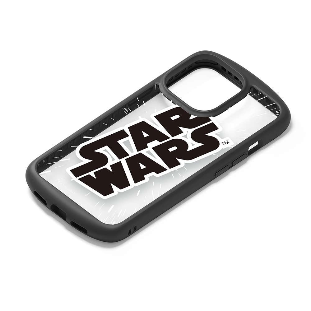 iPhone 13 Pro用 ガラスタフケース [スター・ウォーズ ロゴ]