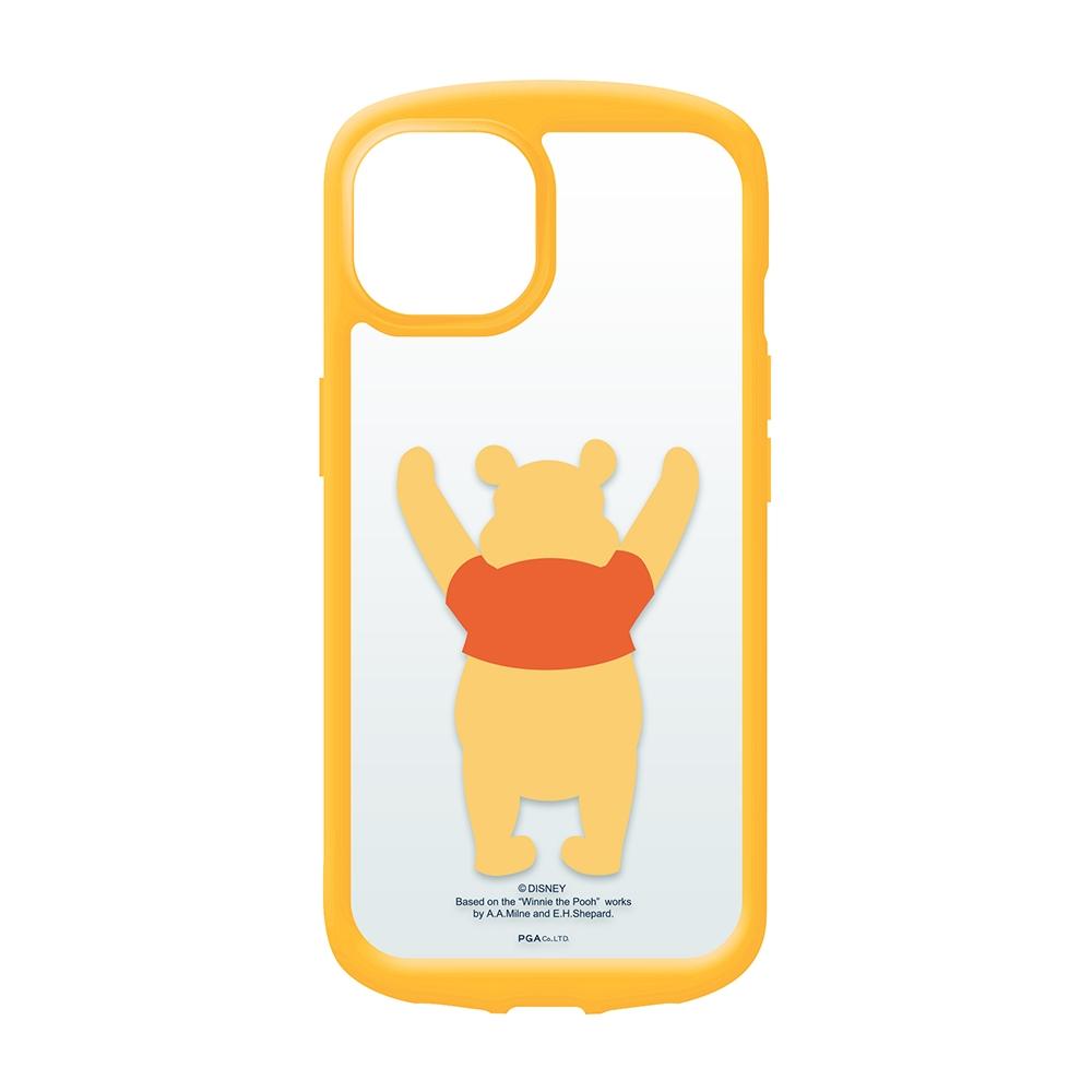 iPhone 13 Pro Max用 ガラスタフケース [くまのプーさん]
