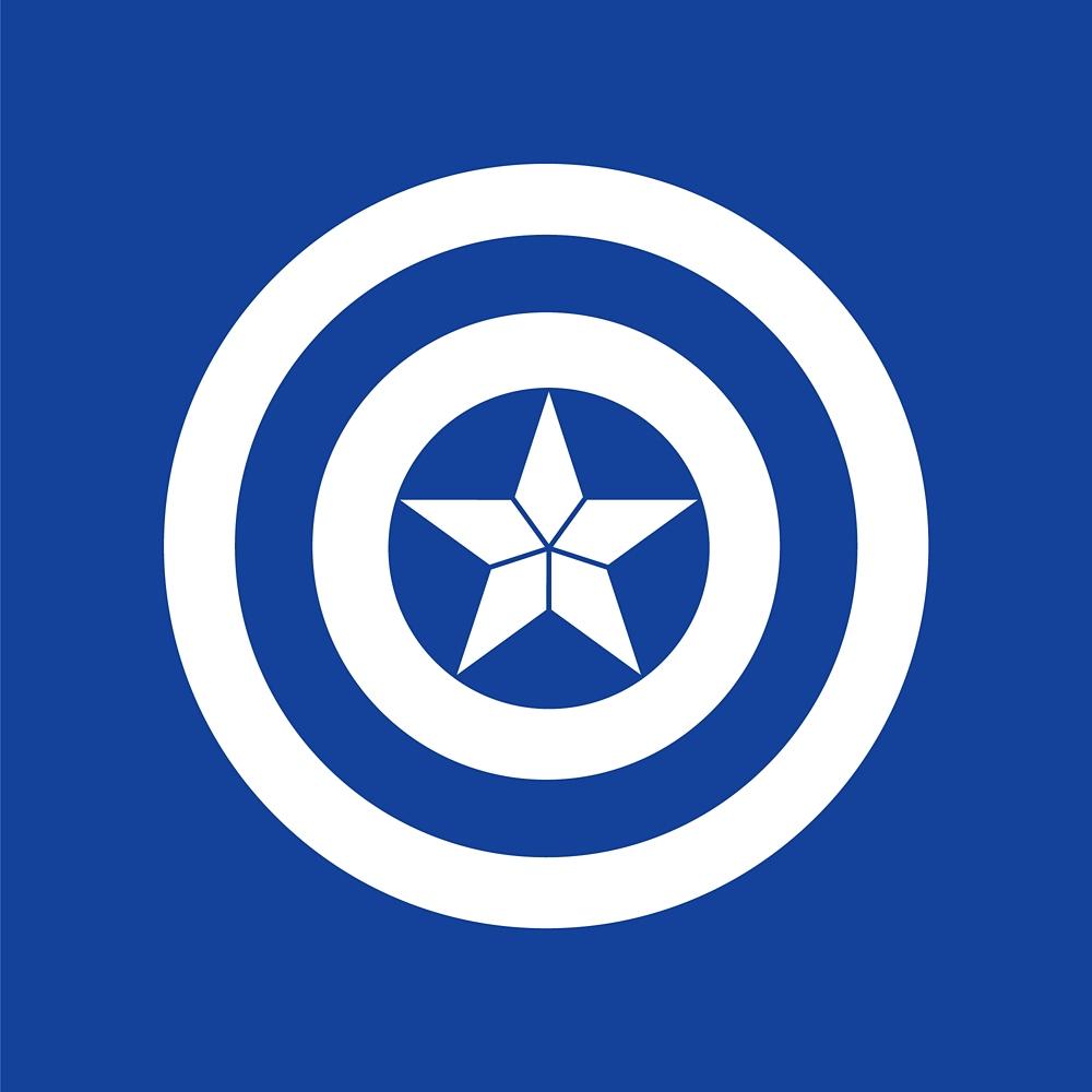 布マスク キャプテン・アメリカ