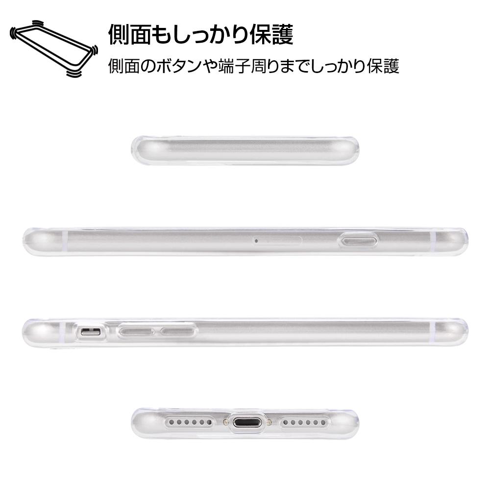 iPhone SE(第2世代)/8 / 7 /『モンスターズ・インク』/TPUケース+背面パネル/『モンスターズ・インク/総柄』_01【受注生産】