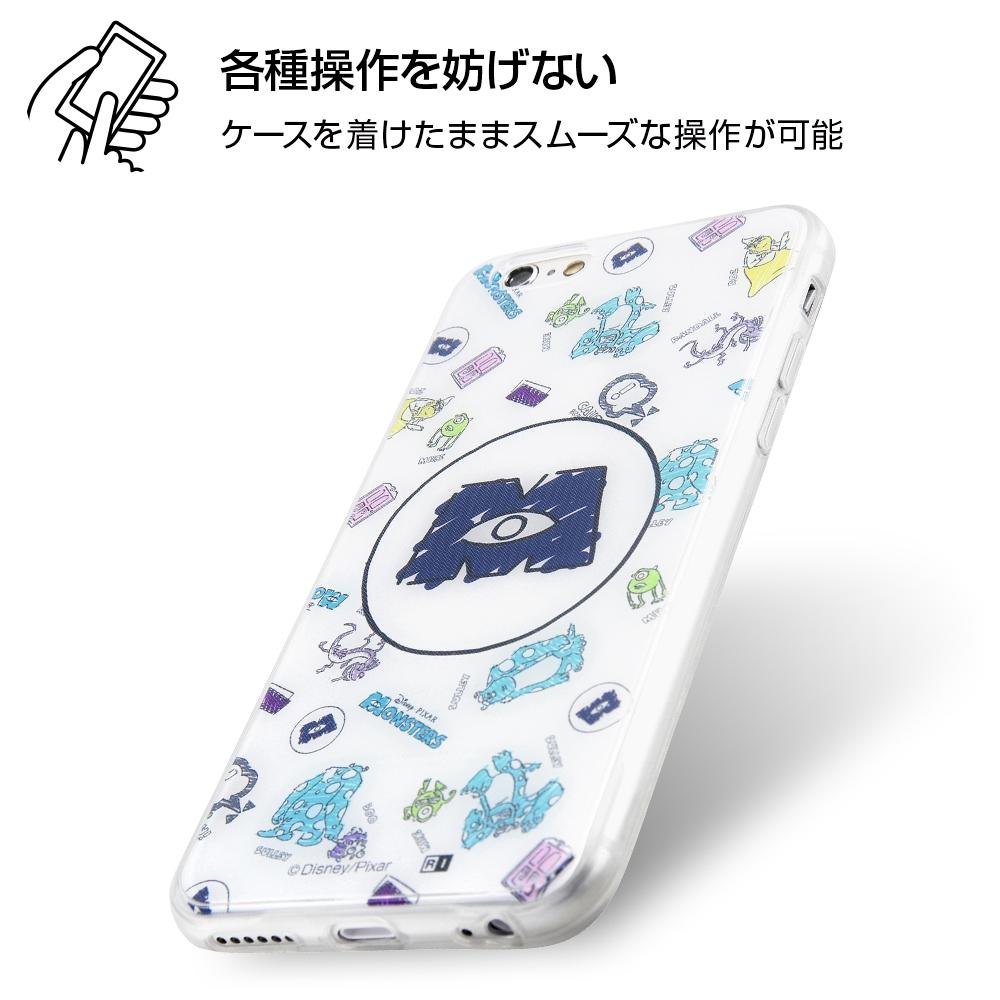 iPhone 6s / 6 /『モンスターズ・インク』/TPUケース+背面パネル/『モンスターズ・インク/総柄』_01【受注生産】