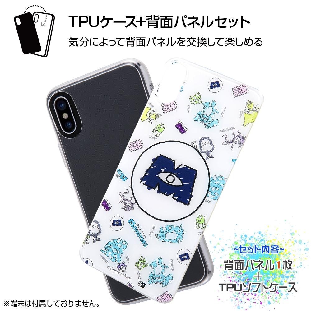 iPhone XS / X /『モンスターズ・インク』/TPUケース+背面パネル/『モンスターズ・インク/SCREAM!』【受注生産】