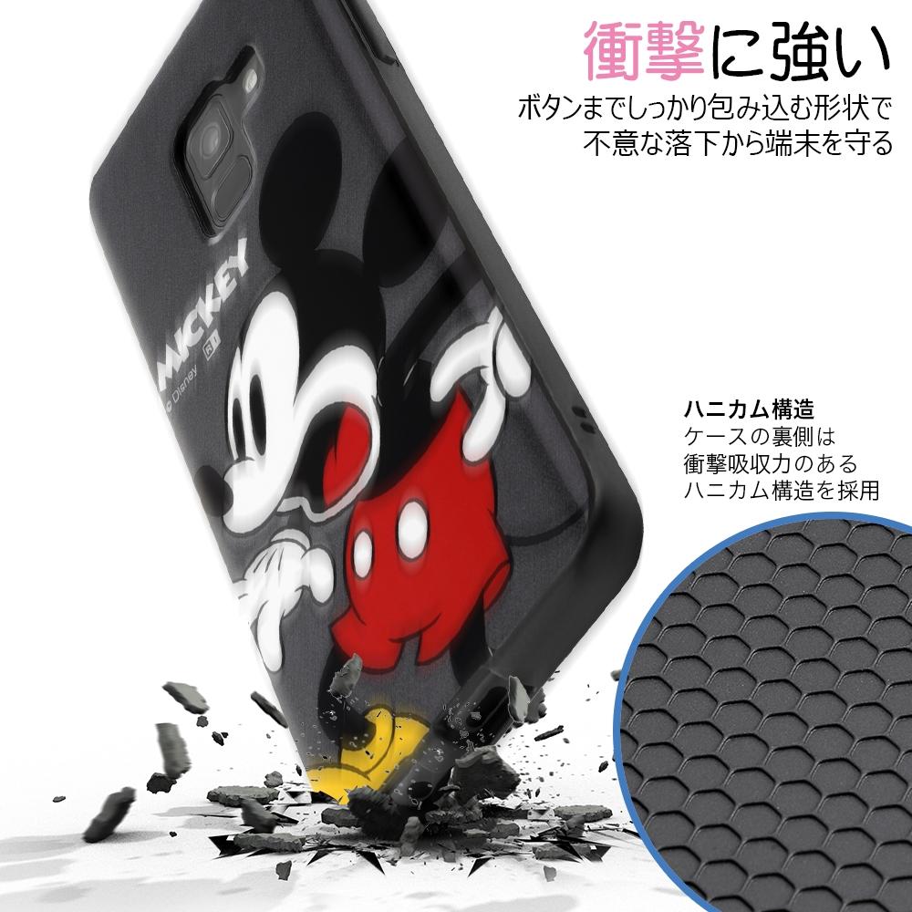 Galaxy Feel 2 『ディズニーキャラクター』/TPUソフトケース Colorap/ミッキー