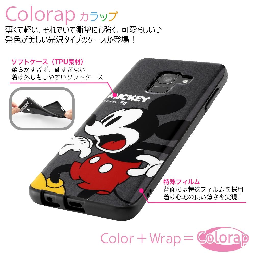 Galaxy Feel 2 『ディズニーキャラクター』/TPUソフトケース Colorap/ミニー