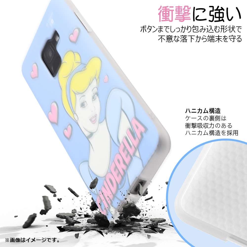Galaxy Feel 2 『ディズニーキャラクター』/TPUソフトケース Colorap/『シンデレラ/夢見るプリンセス』