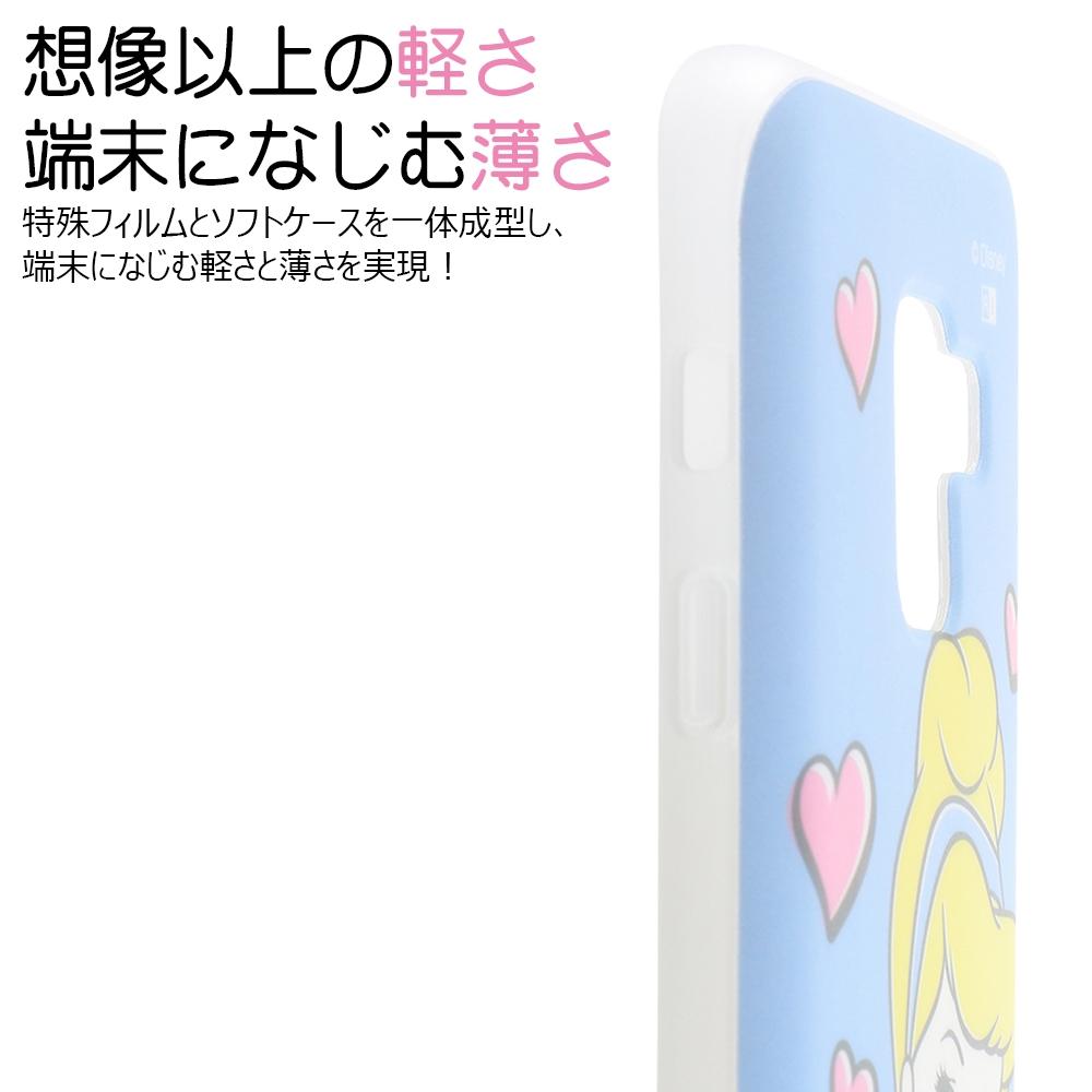 Galaxy Feel 2 『ディズニーキャラクター』/TPUソフトケース Colorap/『ラプンツェル/夢見るプリンセス』