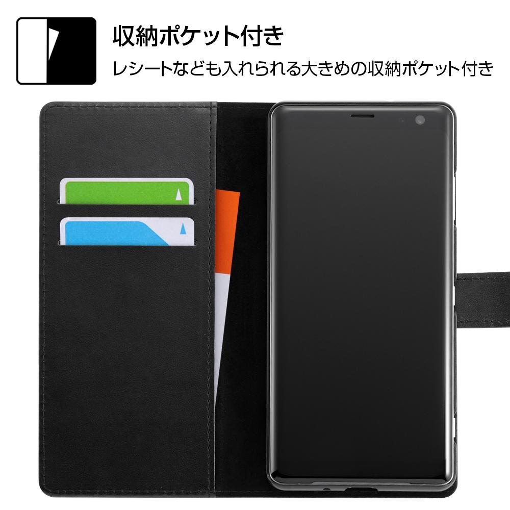 Xperia XZ3 『ディズニーキャラクター』/手帳型アートケース マグネット/ドナルド_001