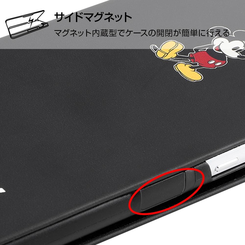AQUOS sense2 『ディズニーキャラクター』/手帳型アートケース マグネット スリム/ミッキーマウス_025