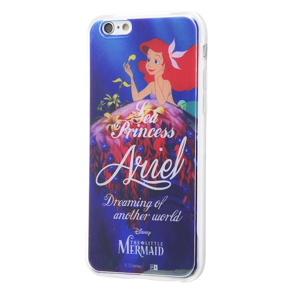 iPhone 6s / 6 /『ディズニーキャラクター』/TPUケース+背面パネル/『リトル・マーメイド/プリンセスの条件』_03【受注生産】